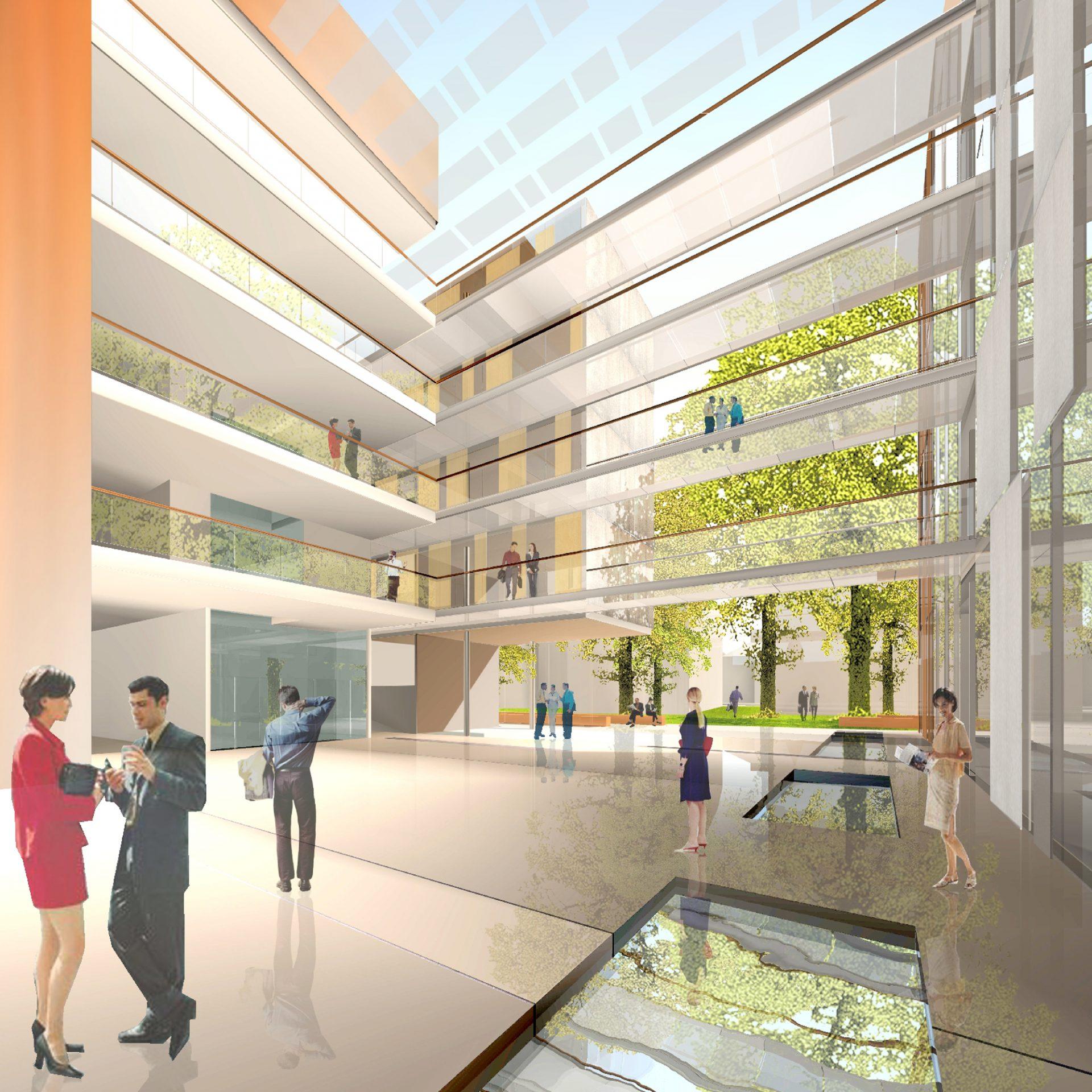 Bürogebäude KfW Frankfurt am Main