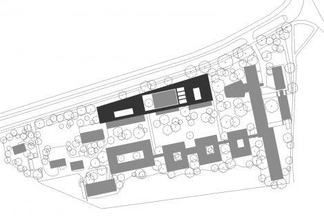 Erweiterung AdBK Nürnberg Lageplan