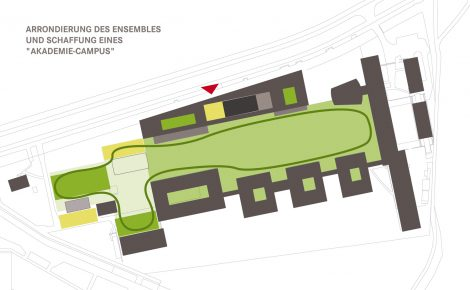 Erweiterung AdBK Nürnberg Campuskonzept