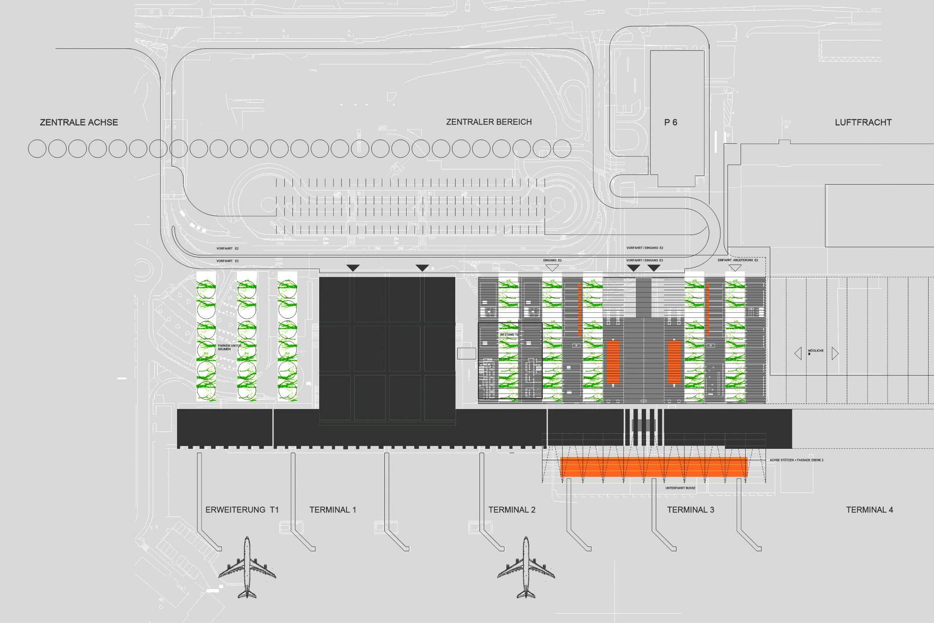 Terminal 3 Flughafen Stuttgart