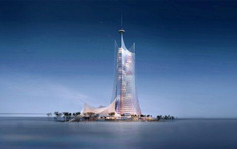 Qtel Headquarters Doha Qatar