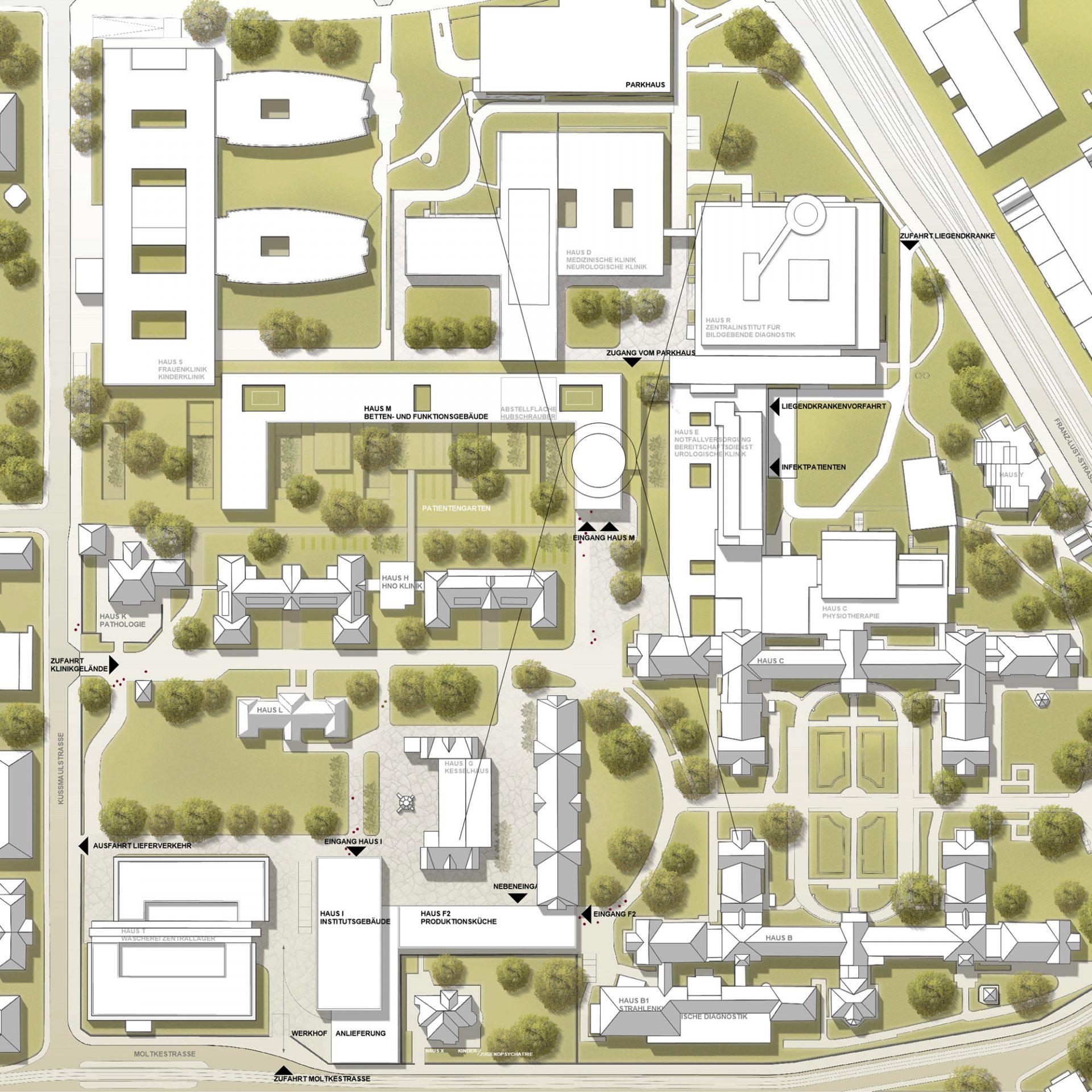 Klinikum Karlsruhe – Zielplanung 2015