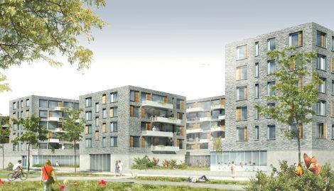 Stadtquartier Zollhafen Rheinallee 3 Mainz