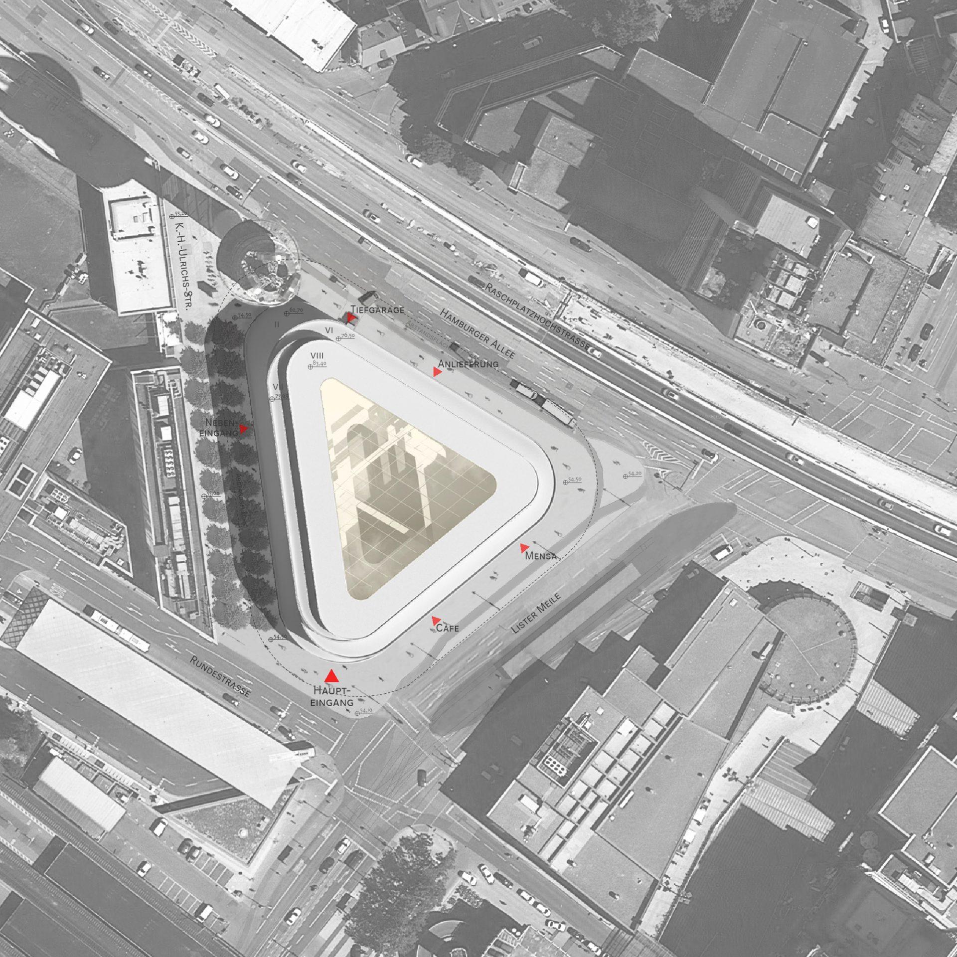 Bürogebäude DB Lister Dreieck Hannover