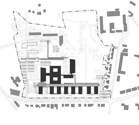 Erweiterung UKK Halle-Kröllwitz Lageplan