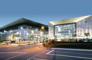 Messehalle 11 und Portalhaus FFM
