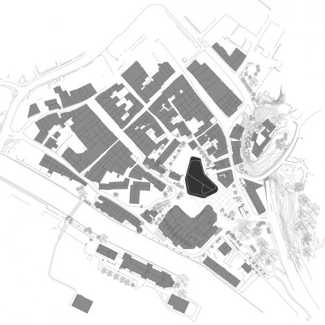 Montforthaus Feldkirch - Lageplan