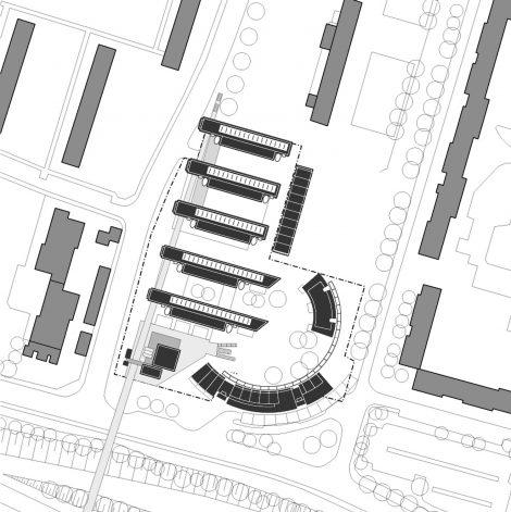 Stadtteilzentrum Storkower Bogen Berlin Lageplan