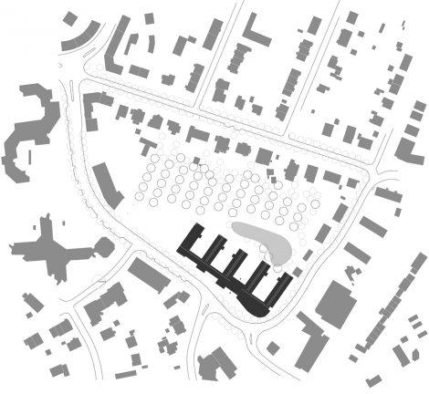 Kreishaus Hameln-Pyrmont Lageplan