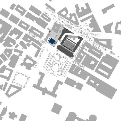 Kunstmuseum Stuttgart Lageplan