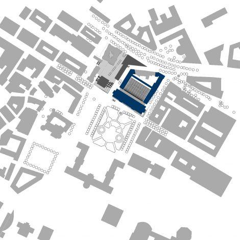 Königsbau Passagen Stuttgart Lageplan