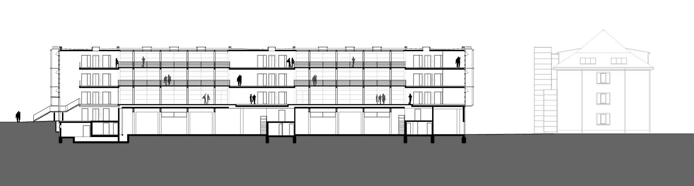pct Gründerzentrum Potsdam 2. BA Schnitt