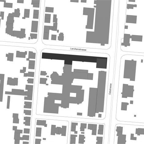 Erweiterung Landratsamt Heilbronn Lageplan