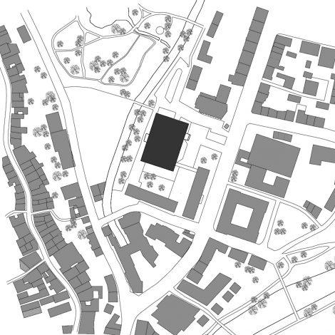 Sanierung Hörsaal Universität Marburg Lageplan