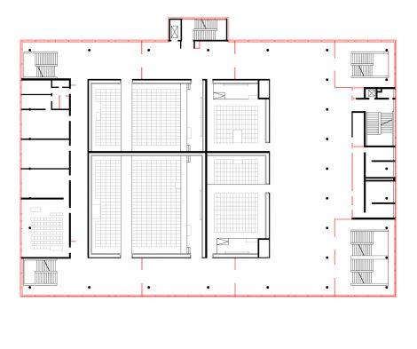 Sanierung Hörsaal Universität Marburg Ebene 1
