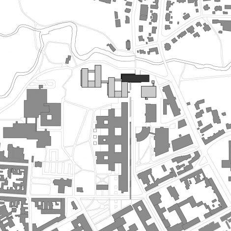 TRC Universitätsklinikum Erlangen Lageplan