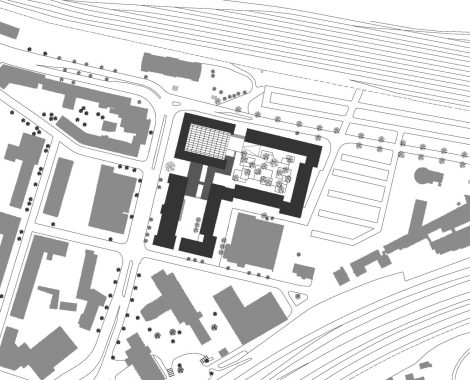 Justizzentrum Bochum Lageplan