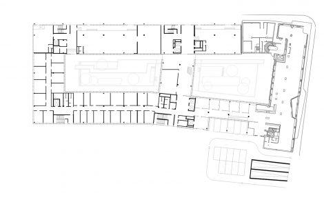 Bürogebäude wgv 1. BA Stuttgart Ebene 0