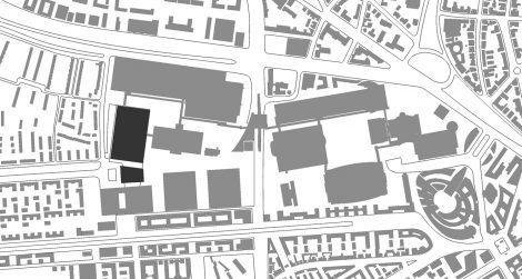 Messehalle 11 und Portalhaus FFM Lageplan