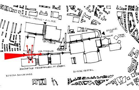 Messehalle 11 und Portalhaus FFM Städtebau