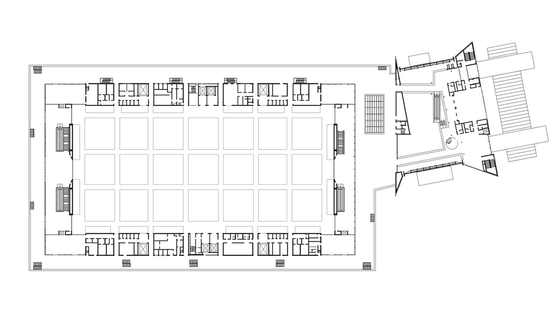 Messehalle 11 und Portalhaus FFM Ebene 11.1