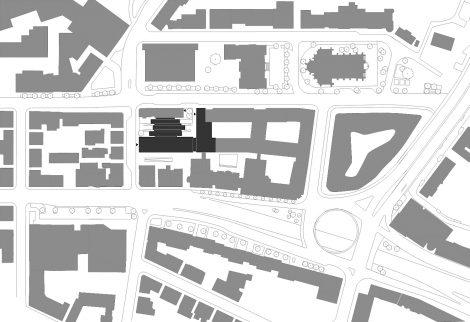 Bürogebäude wgv 2. BA Stuttgart Lageplan