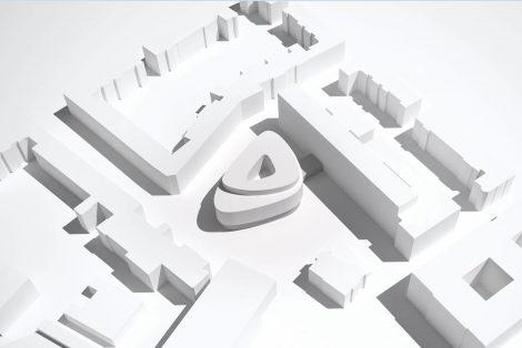 Seminar- und Mehrzweckgebäude Campus FRA-UAS