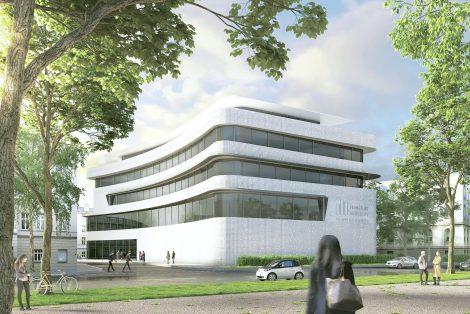 Neubau Gebäude 7 für den Fachbereich 2 der FRA-UAS
