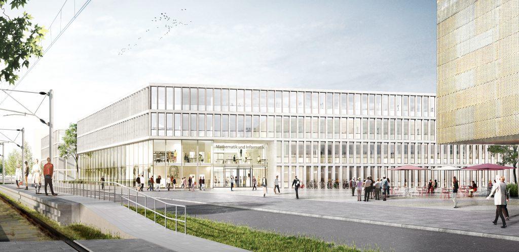 Neubau Informatik und Mathematik der Goethe-Universität FFM