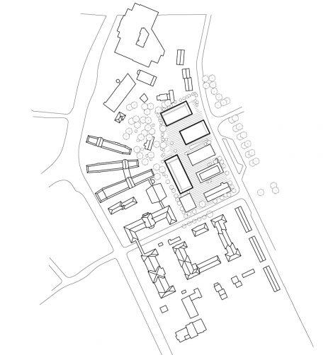 LTZ Campus – THM Gießen Lageplan