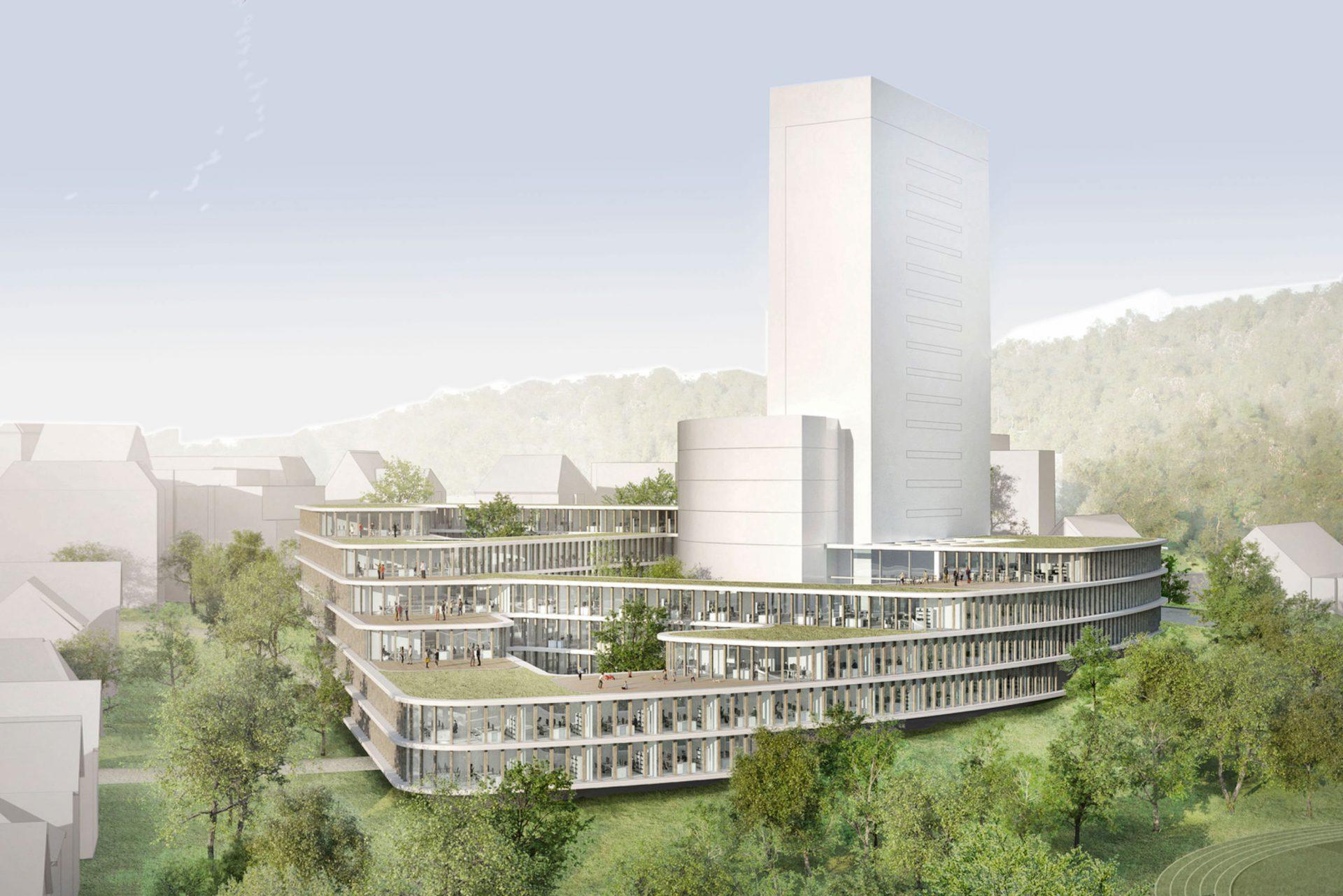 Verdichtung Kreishausareal Gummersbach